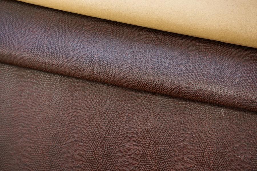 Экокожа двусторонняя на замше Gucci переспелая вишня SVR -I3 17082005