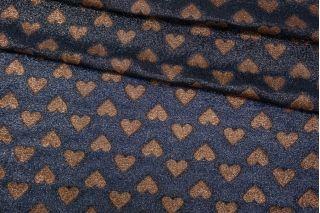 Шелк с люрексом Gucci принт сердца SVR-C4 17082008