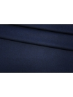 Костюмная шерстяная фланель сине-черная BRS-W2 20072018