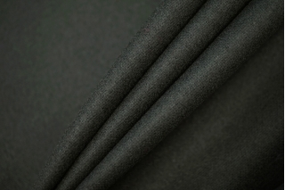 ОТРЕЗ 2,7 М Костюмная шерстяная фланель графитово-зеленая BRS-(30)- 20072025-1