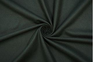 Костюмная шерстяная фланель графитово-зеленая BRS-G7 20072025