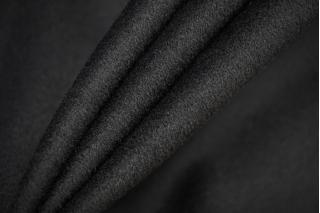 Пальтовая шерсть черная с кашемиром BRS-СС5 20072026