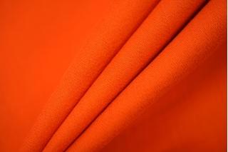 Сатин костюмно-плательный яркий морковный NST-Z5 22062010
