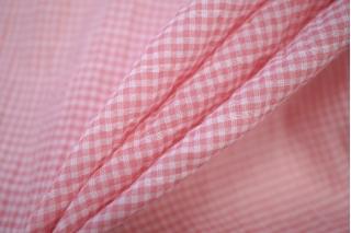 Марлевка-сирсакер бело-розовая NST-Z2 22062024