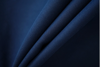 Хлопок костюмный диагональный темно-синий NST-G6 22062034