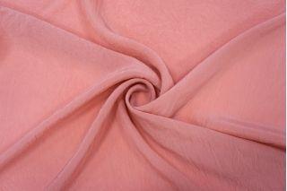 Плательно-блузочная вискоза розовая жатая NST-H3 22062037