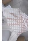 Горошек-плюмети белый NST-A2 22062042