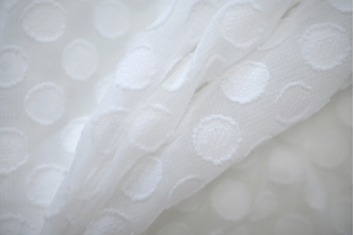 Горошек-плюмети белый NST-B3 22062042
