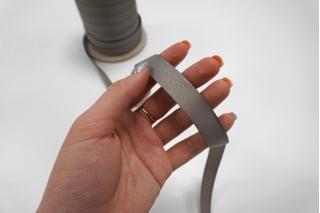 Тесьма брючная серая 15 мм Kufner KFN 27082029