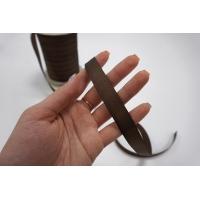 Тесьма брючная коричневая 15 мм Kufner KFN 27082031