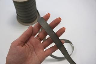 Тесьма брючная приглушенно-серая 15 мм Kufner KFN 27082032