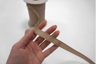 Тесьма брючная телесно-бежевая 15 мм Kufner KFN 27082033