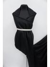 Пальтовая шерсть черная с кашемиром BRS.H-EE30 30072001