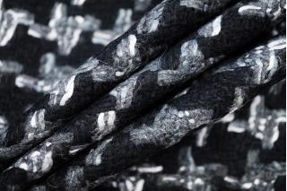 Шерстяная шанель черно-серая DRT -D7 31072003