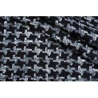 Шерстяная шанель черно-серая DRT -H7 31072003