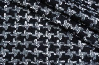 Шерстяная шанель черно-серая DRT -C1 31072003