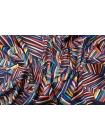 Блузочный сатин абстракция Max Mara DRT.H-H2 31072011