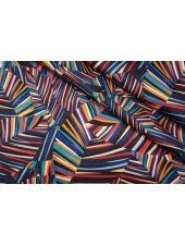 ОТРЕЗ 2,95 М Блузочный сатин абстракция Max Mara DRT.H-(32)- 31072011-1