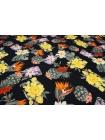 Блузочный сатин кактусы и цветы Blumarine DRT-H50 31072012