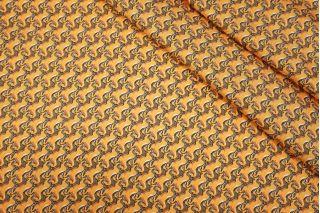 Твил шелковый плательный единороги Hermes SMF-C5 31072014