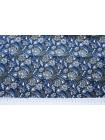 Поплин рубашечный цветочный DRT -G5 31072016