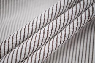 Сирсакер бело-коричневый Prada DRT - F3 31072026