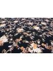 Штапель цветы на черном Gucci DRT.H-H4 31072028
