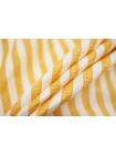 Плательный лен в полоску оранжево-белый Max Mara DRT.H-E60 31072029