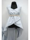 Хлопок Prada с накатом бледно-голубой DRT-i2 31072035