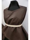 Хлопок Prada с накатом горький шоколад DRT -i2 31072037
