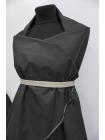 Хлопок Prada с накатом черный DRT -i2 31072039