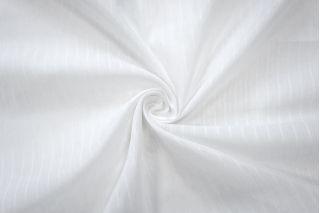 Батист Prada хлопок с шелком белый в полоску SMF-E3 31072044