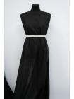 Батист Prada хлопок с шелком черный в полоску SMF-N20 31072045