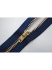 Молния джинсовая неразъемная цвет темно-синий 560 16 см YKK SK 42351-560