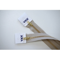Молния джинсовая неразъемная цвет бежевый 572 16 см YKK SK 42351-572