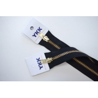 Молния джинсовая неразъемная цвет черный 580 16 см YKK SK 42351-580