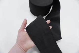 Резинка черная широкая 10 см ST 01062001