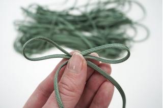 Шнур плоский оливковый PRT 01062010