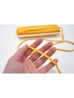 Плоский шнур хлопковый желтый 6 мм PRT 01062023