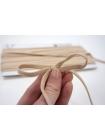 Плоский шнур хлопковый песочный 6 мм PRT 01062025