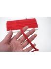 Плоский шнур хлопковый красный 6 мм PRT 01062027