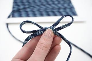 Шнур многоцвет синий 6 мм PRT 01062030