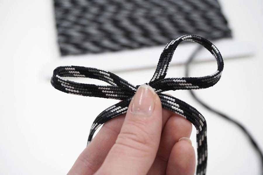 Шнур многоцвет серо-черный 6 мм PRT 01062031