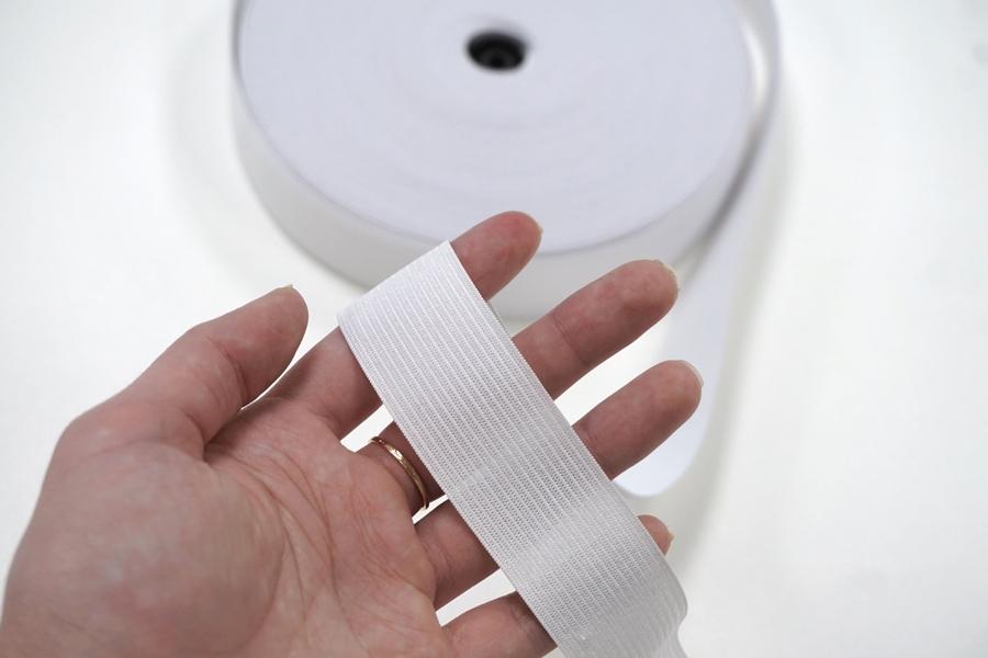 Резинка белая 3 см ST 01062034