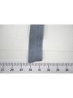 Резинка окантовочная матовая серая 1,5 см ST 01062048