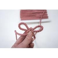 Шнур витой розовый 6,5 мм ALT Г03 02062001
