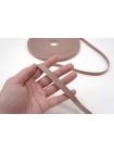 Пудрово-розовая киперная лента 1 см PRT 04062012