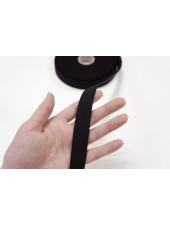 Резинка жесткая черная 2 см WT 03062001