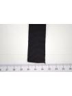 Лента репсовая шелк черная 2,5 см ALT Ж02 04062040