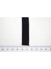 Лента репсовая шелк черная 1,5 см ALT Ж03 04062041
